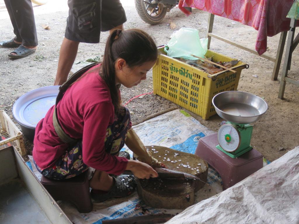 Auf dem Markt in Battambang