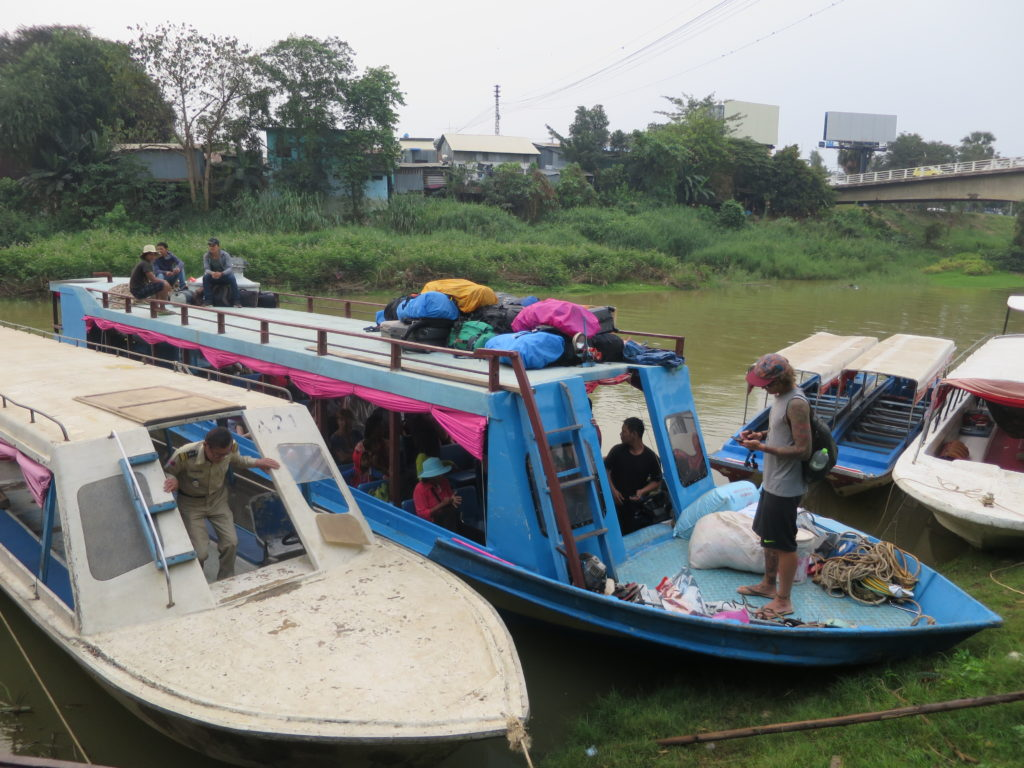Slow Boat nach Siem Reap