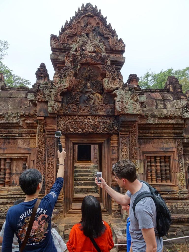 Banteay Srei in Angkor