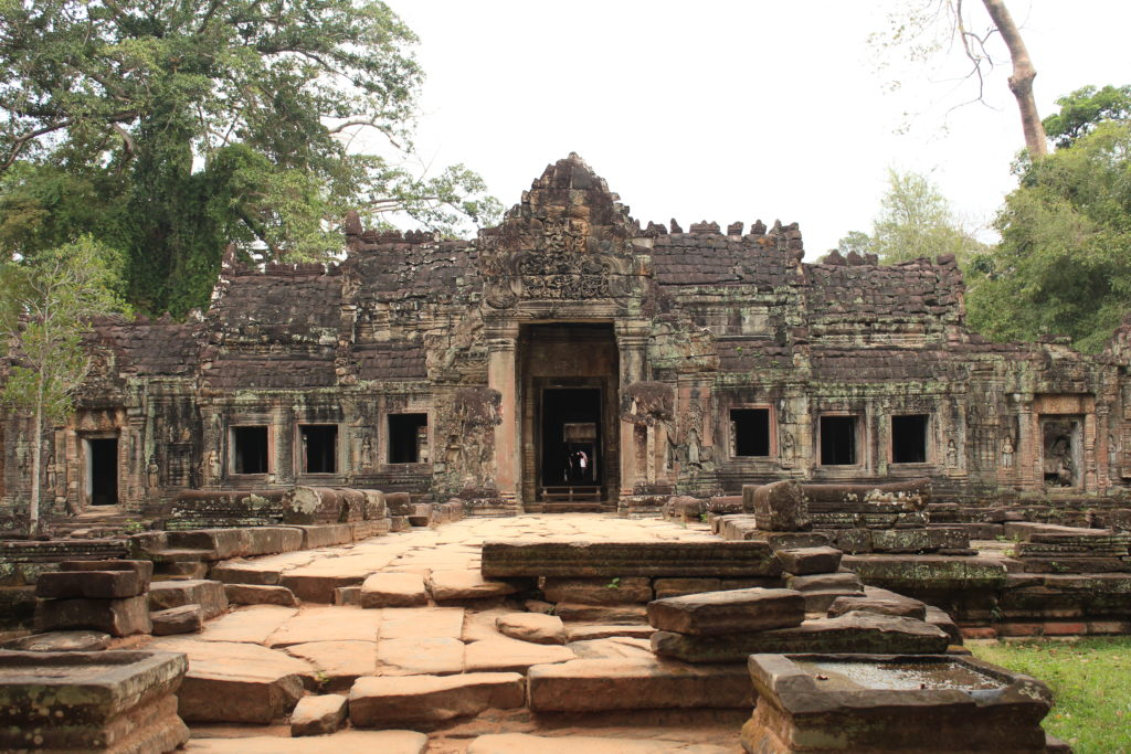 Preah Khan in Angkor