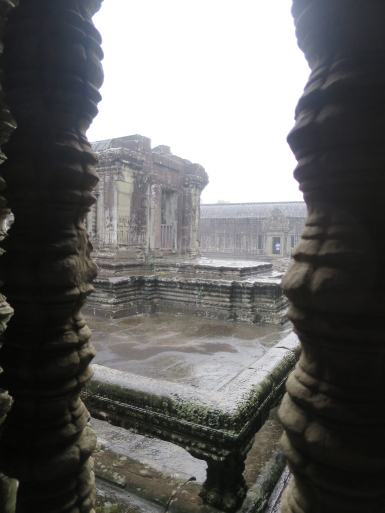 Angkor Wat im Regen