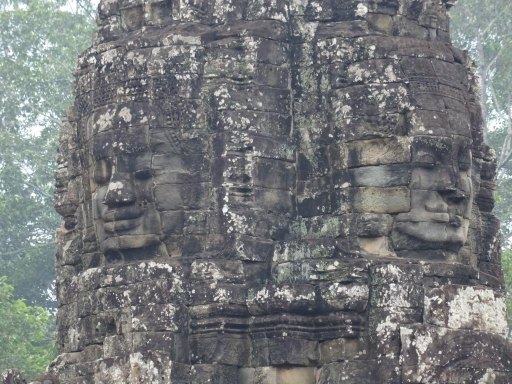 Turm in Bayon in Angkor