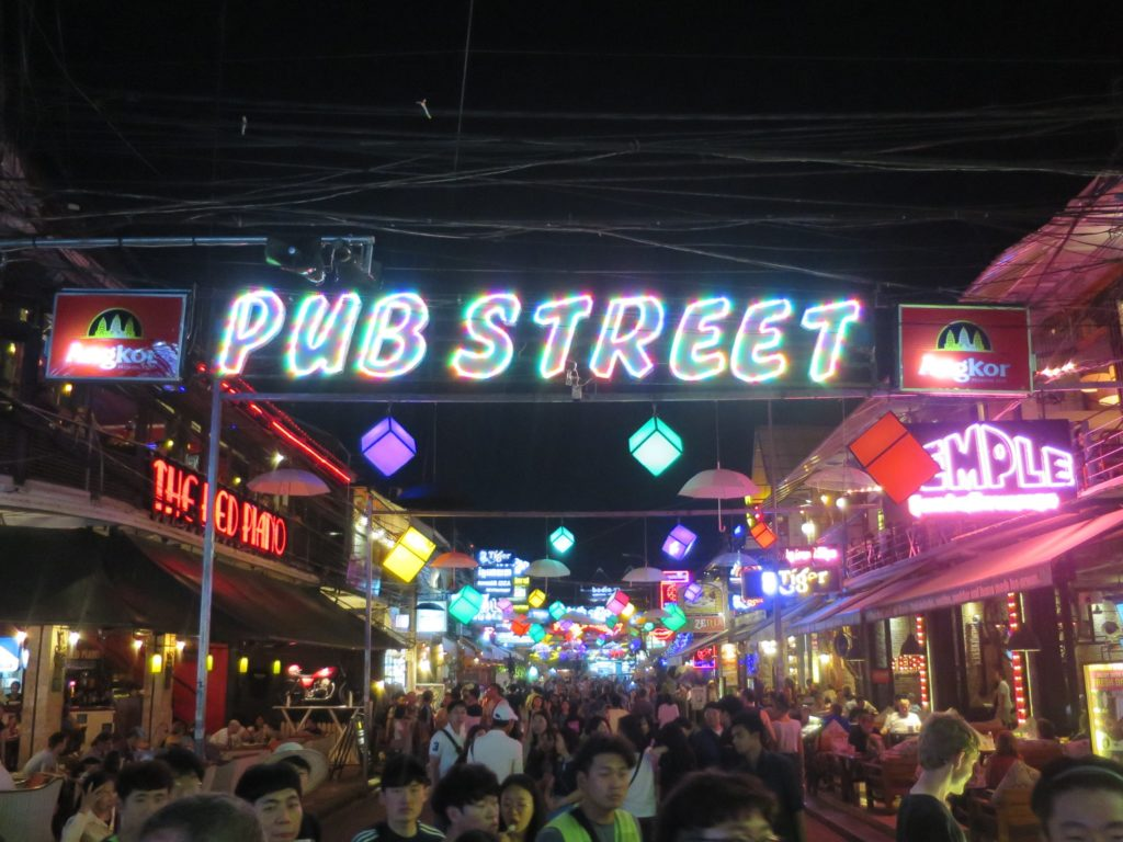 Pub Street in Siem Reap