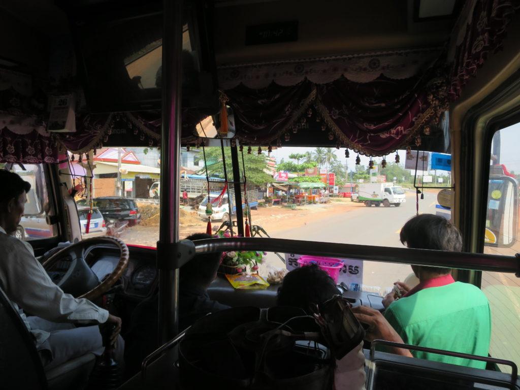 Busfahrt von Sihanoukville nach Bangkok