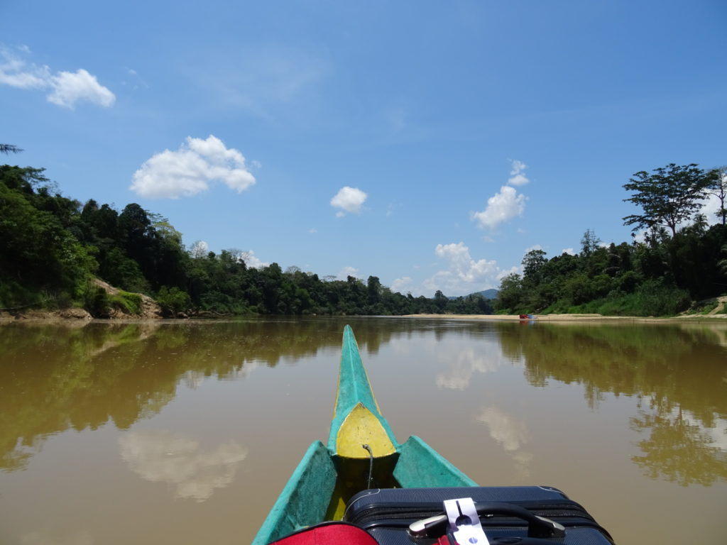 Bootsfahrt zum Taman Negara