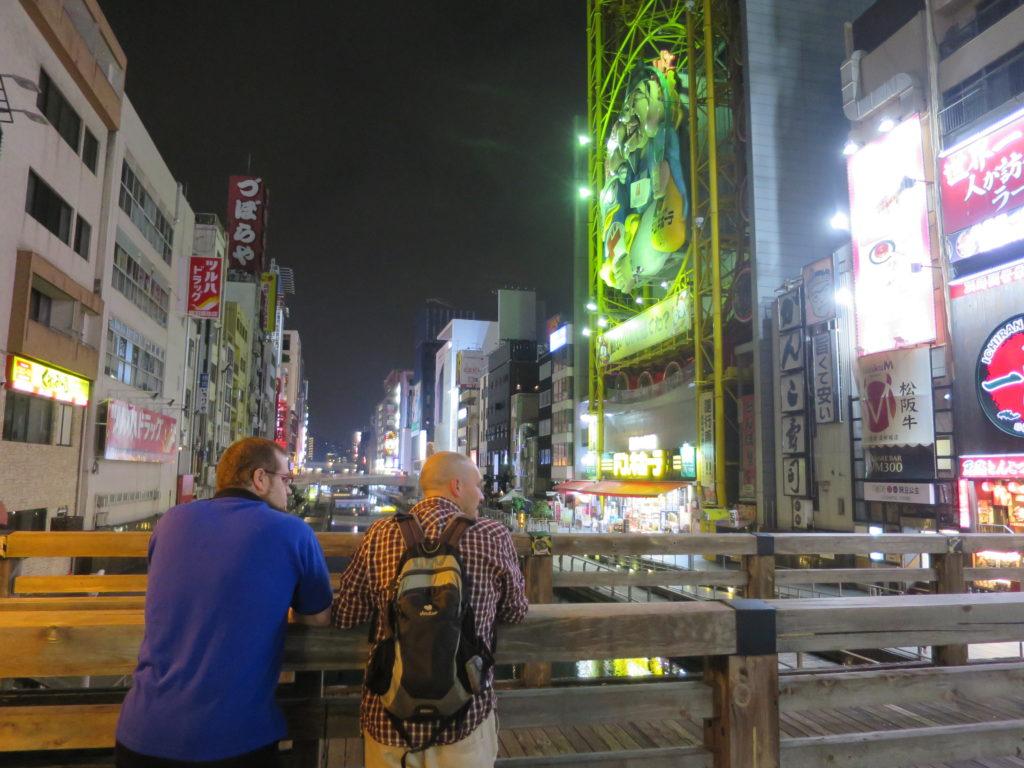 Abendliches Osaka