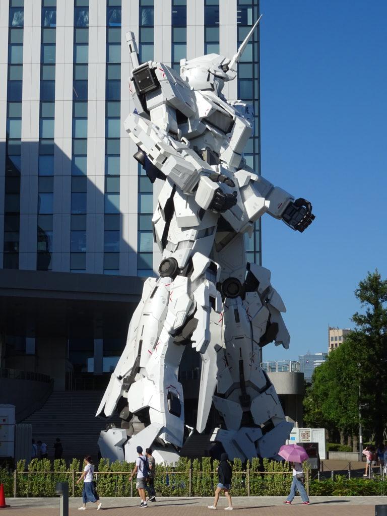 Gundam Statue auf Odaiba