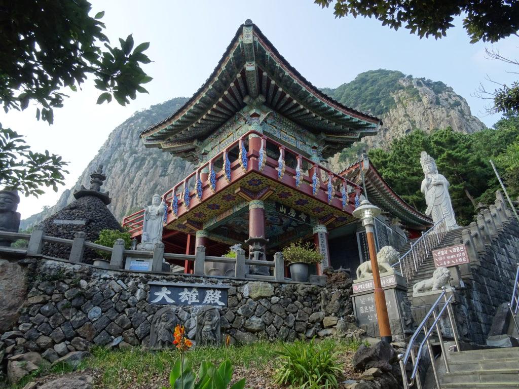 Sanbanggulsa auf Jeju