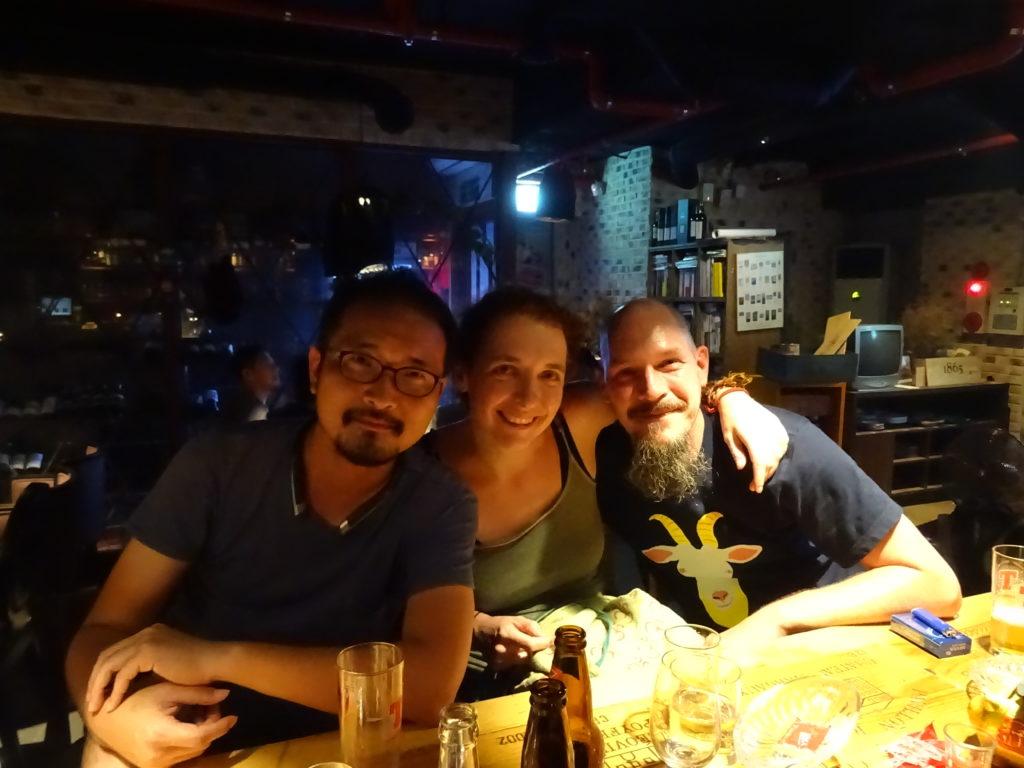 Mit guten Freunden in Seoul